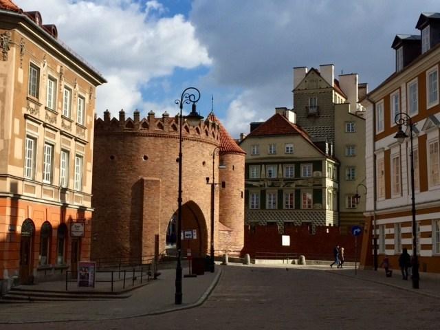 La citta' vecchia di Varsavia