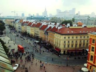 Il centro strorico di Varsavia