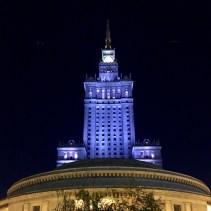 Palazzo di Cultura al centro di Varsavia