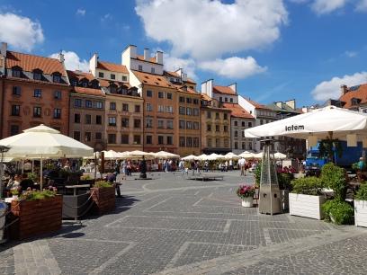 Le piazza del mercato vecchio