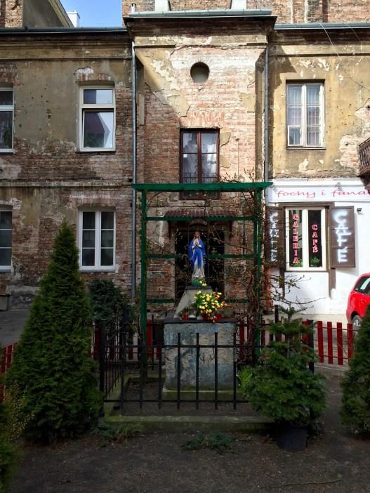 Uno dei cortili a Praga