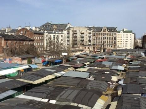 il mercato di Różycki
