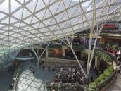 uno dei centri commerciali di Varsavia