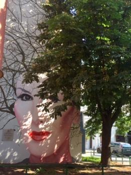 Kora: mural straordinario come omaggio alla donna straordinaria